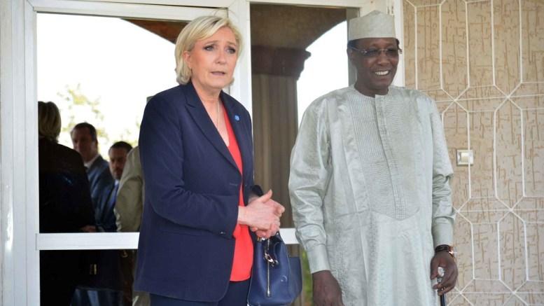 Marine Le Pen au Tchad : « Je m'engage à développer la coopération avec les pays francophones »
