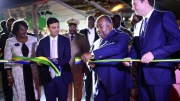 Ali Bongo Ondimba inaugure le nouveau port international d'Owendo