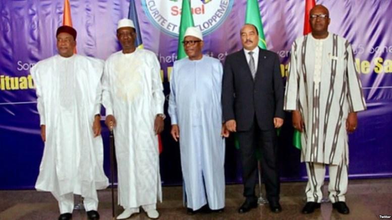G5 Sahel à l'ONU