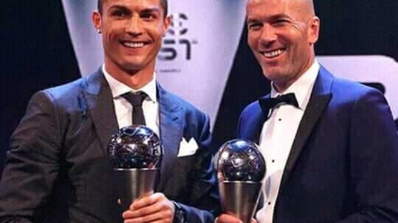 Ronaldo et Zidane