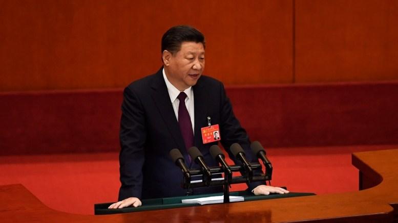 Xi Jinping au Congrès du PCC