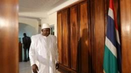 Adama Barrow, président de la Gambie