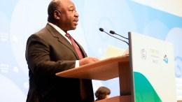 Ali Bongo Ondimba à la COP 23 à Bonn