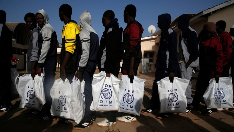 Les migrants en Libye