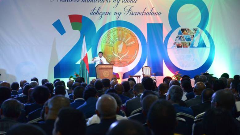 Hery Rajaonarimampianina présente Fisandratana 2030