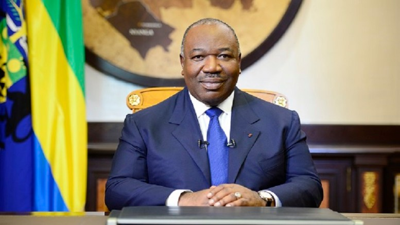 Le président Ali Bongo Ondimba s'adresse aux gabonais