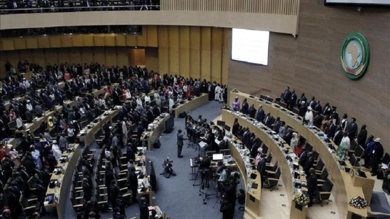 Les dirigeants africains à Addis-Abeba
