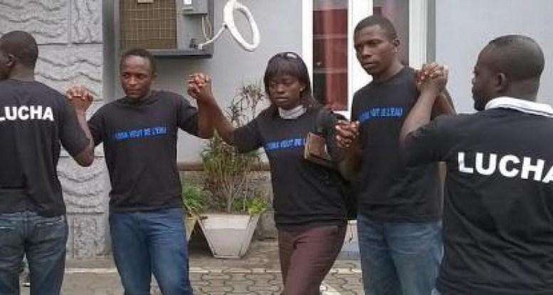 RDC : Dix militants de Lucha condamnés à trois ans de prison