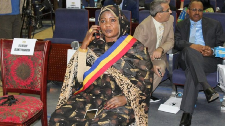 Mariam Djimet Ibet, le maire de N'djamena