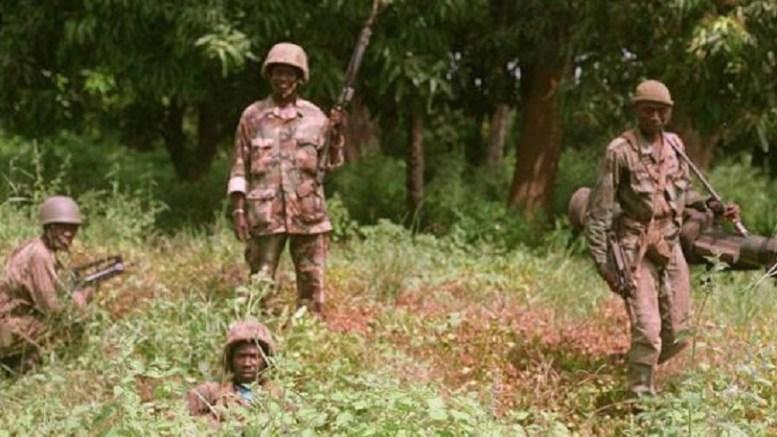 opération militaire en Casamance