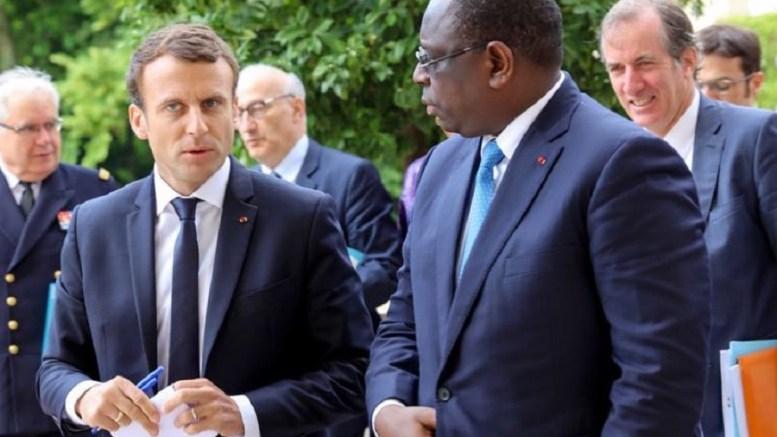 Emmanuel Macron au Sénégal
