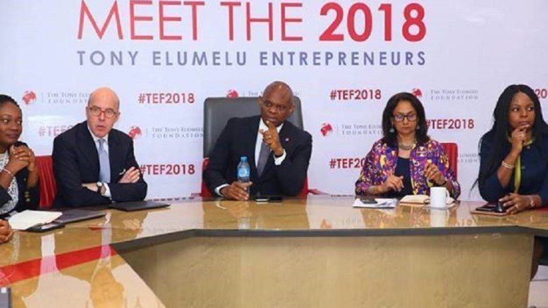 La Fondation Tony Elumelu choisit 1000 entrepreneurs de 2018