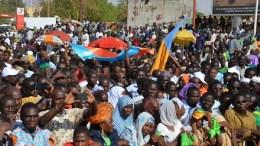 Manifestation à Niamey