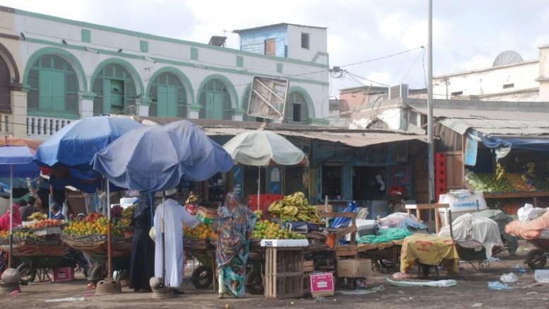 Le marché central de Djibouti