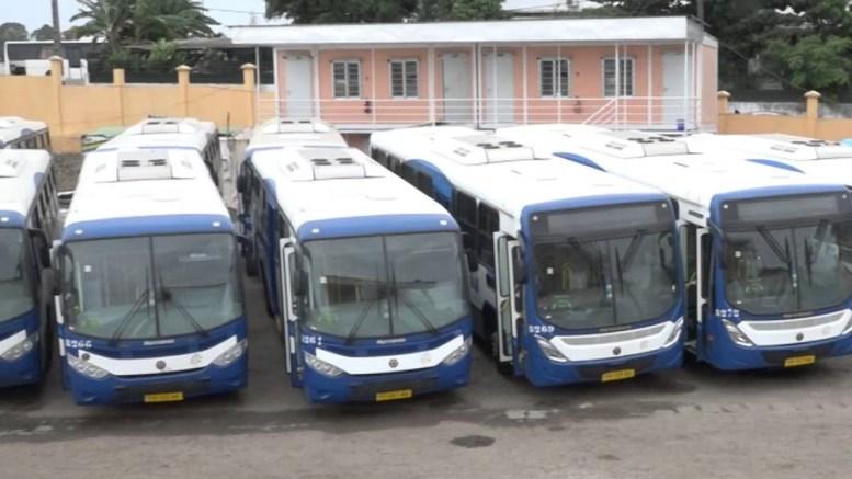 Les bus de la SOGATRA