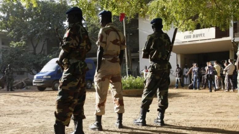 Les gendarmes tchadiens