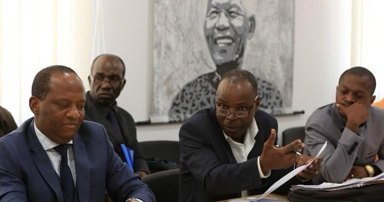 Les journalistes de Gabon Télévisions