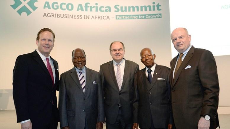 Martin Richenhagen inaugure AGCO Africa
