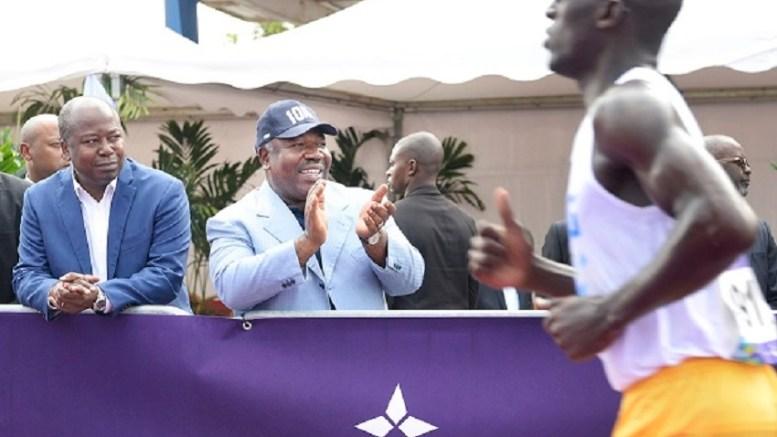 Ali Bongo à Port-Gentil