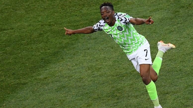 L'attaquant du Nigeria
