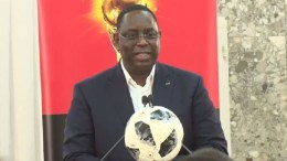 Macky Sall au mondial 2018