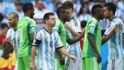 Nigeria - Argentine sur le terrain