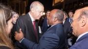 Ali Bongo Ondimba et Recep Tayip Erdogan
