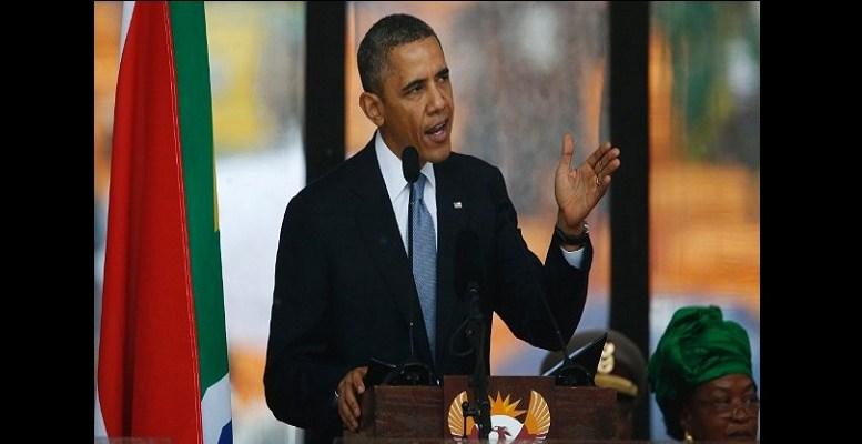 Barack Obama rend hommage à Mandela