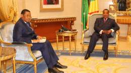 Daniel Ona Ondo reçu pa le président Denis Sassou Nguesso