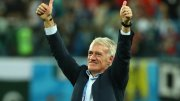 Didier Deschamps et la France en finale