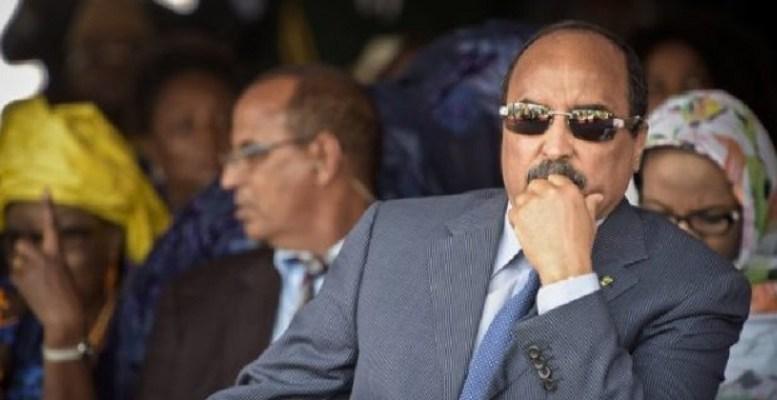 Le président de la Mauritanie