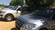 Les véhicules offerts à la gendarmerie