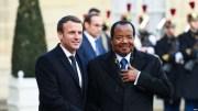 Macron et Biya