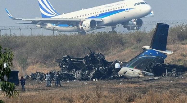 Crash d'un avion à Podor