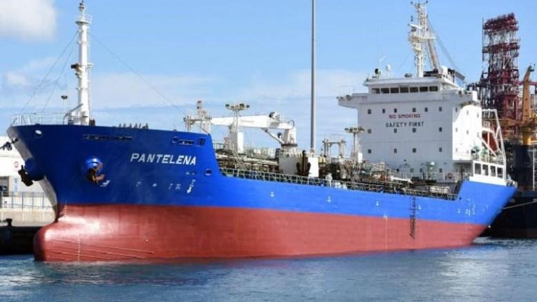 Le navire M/T Pantelena