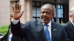 Le président du Djibouti