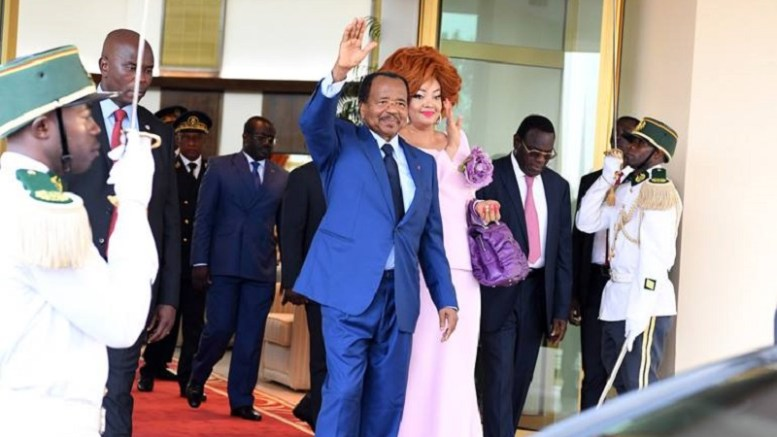 Paul Biya accueilli à Pékin
