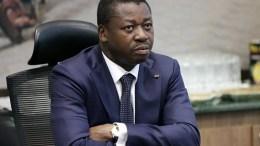 Faure Gnassingbe, le président du Togo