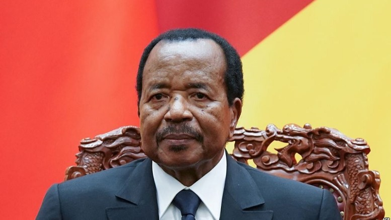 Paul Biya favori de la présidentielle
