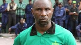 Florent Ibengue, l'entraîneur de l'AS Vita Club