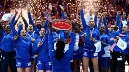 LES BLEUES CHAMPIONNES D'EUROPE DE HANDBALL
