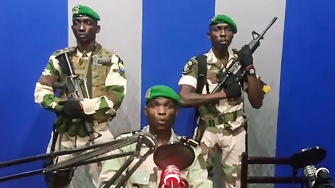 Putsch Gabon