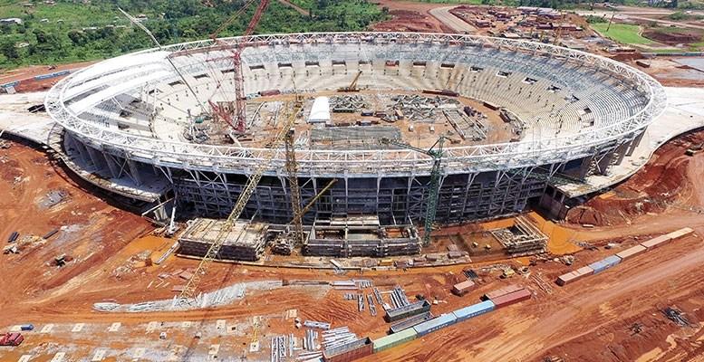 Cameroun Construction des stades