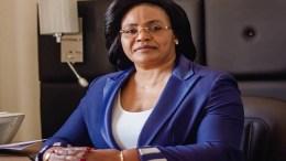 Nanette Longa-Makinda, porte-parole du gouvernement