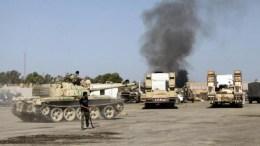 Combats en Libye