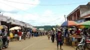 La ville d'Obala au Cameroun