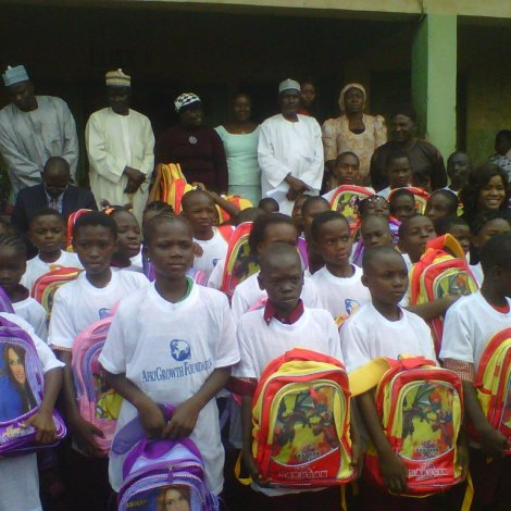 Bag to School Program Intervention