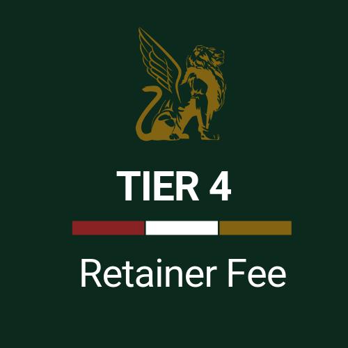 Retainer Fee Tier 4