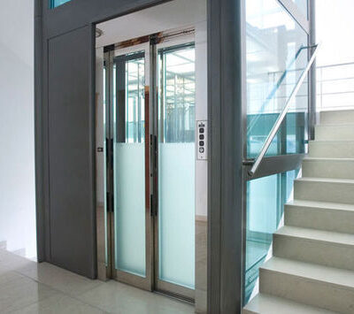 Aize Residence Stair way and Elevator Chambers