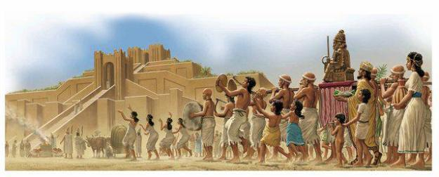 Sumerian Anunnaki Gods second Pyramid War Rise Of Marduk and Babylon
